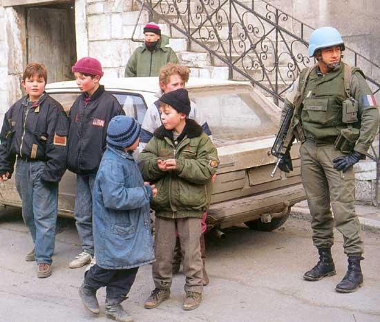 EMBRASEMENT DE L EX-YOUGOSLAVIE Bosnie-3