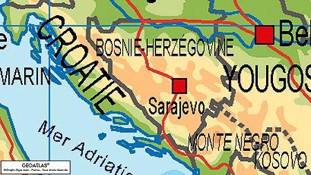 EMBRASEMENT DE L EX-YOUGOSLAVIE Bosnie-herzegovinep