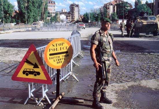 EMBRASEMENT DE L EX-YOUGOSLAVIE Kosovo-1