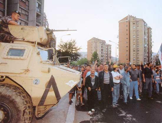 EMBRASEMENT DE L EX-YOUGOSLAVIE Kosovo-21